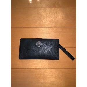 kate space slim bifold wallet